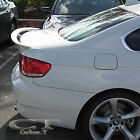 FOR UNPAINTED BMW E92 3-Series 2D Coupe A Type Rear Trunk Boot Spoiler ABS