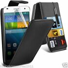 Huawei Ascend G7 PU Leather Top Flip Phone Case Skin Cover Pen+Film+Pen