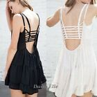 Celebrity Bralette Cage Caged Back Cut Out Padded Bra Bralet Crop Top Bustier