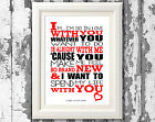 Al Green Lets Stay Together Song Lyrics Poster Lyric Art Typography Print Only