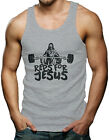 Reps For Jesus - Gym Workout Exercise Fit Men's Tank Top T-shirt