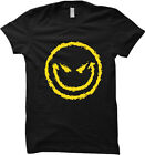 Evil Smiley Face - Funny Humor Womens T-shirt
