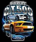 FORD SHELBY GT 500 YELLOW MUSTANG LONG SLEEVE T SHIRT M TO 4X