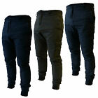 Bakers Mens Cargo Pants Combat Trousers Work Casual Utility Cuffed Hem Chinos