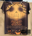 New Fresh T-shirt Top Tee Halloween The Nightmare Before Christmas Pumpkin Ghost