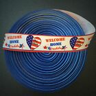 """1"""" Welcome Home Daddy Grosgrain Ribbon by the Yard (USA SELLER!)"""