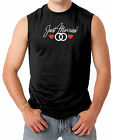 Just Married Wedding Rings - Marriage Newlywed Men's SLEEVELESS T-shirt