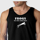 Frogs The Other White Meat Funny T-Shirt Redneck Humor Gigging Men's Tank Top