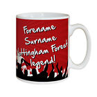 Personalised Nottingham Notts Forest FC Football Club Legend Mug Gift Idea
