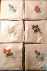 SALE 12 PCS of Chinese classical embroidery craft/white bud silk handkerchiefs