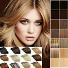 18Colors 7Pcs/8Pcs Remy clip in human hair extensions 70g/90g/100g~showmerry~F/S