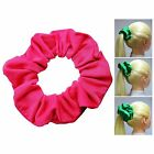 Fuchsia Soft & Silky Scrunchie Ponytail Holder Hair Accessories  50+Colors