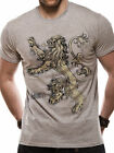 GAME OF THRONES House LANNISTER Lion Sigil logo OFFICIAL cotton T-SHIRT Unisex