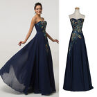 2015 SEXY Long Formal Ball Gown Wedding Evening Bridesmaid Homecoming Prom Dress