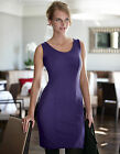 Bravissimo Seam Detail Ponti Dress by Pepperberry in Purple Color (78)
