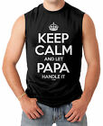 Keep Calm And Let Papa Handle It - Father's Day Men's SLEEVELESS T-shirt