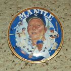 "1993 Sports Impressions - Micket Mantle, Living Legend - 4"" Mini Plate"