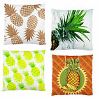 NEW~PINEAPPLES 'UR CHOICE' FIRM FEEL DECORATORS ACCENT CUSHION CASE~IMAGE 2SIDES