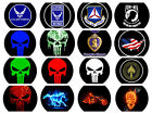 CHOOSE A VEHICLE DOOR LOGO LIGHT- US AIR FORCE & CAP MILITARY LOGO- PUDDLE LIGHT
