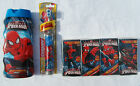 SPIDERMAN 3pc Mixed Items-Battery Operated Toothbrush Shower Gel Pocket Tissues