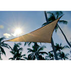 Sun Shade Triangle Sail Cover UV Top Outdoor Canopy For Patio Lawn Deck