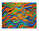 A0 size Aboriginal painting dreaming abstract  Art  Signed Print jane crawford