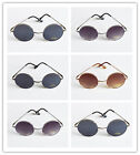 New Classic Metal Circular Round Frame Sunglasses 8013 Colors