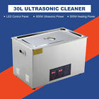 30L  Ultrasonic Cleaner Cleaning Equipment Liter Industry Heated W/ Timer Heater
