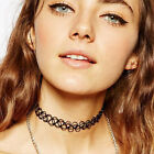 Tattoo CHOKER Elastic Stretch Necklace Retro Henna Hippy Vintage BOHO 80 90S