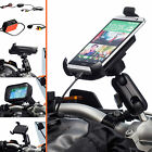 Motorcycle Clamp Bolt Extended Bike Mount + Universal One Holder for HTC One