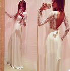 Women's Celebrity Cocktail Evening Party Long Beach Summer Boho Prom LACE Dress
