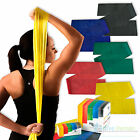 Rolyan Resistance Bands Exercise Fitness Yoga Stretch Physio Strips Catapult Gym