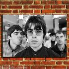 OASIS LIAM AND NOEL MUSIC CANVAS WALL ART BOX PRINT PICTURE SMALL/MEDIUM/LARGE