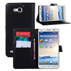 Flip Magnetic Card Wallet PU Leather Case Stand Cover For Huawei Ascend G750
