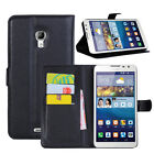 Flip Magnetic Card Wallet PU Leather Case Stand Cover For Huawei Ascend MATE 2