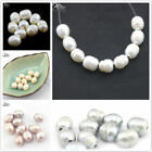10x12mm Oliver Big Hole Freshwater Pearl Beads Jewelry Making Craft Spacer