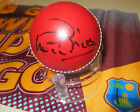Sir Vivian Richards  (West Indies) signed Red Cricket Ball + COA + Photo Proof