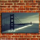 SAN FRANCISCO GOLDEN GATE CANVAS WALL ART BOX PRINT PICTURE SMALL/MEDIUM/LARGE