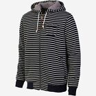 ~~~NEW~~~MENS O'NEILL ballena FULL ZIP SHERPA SWEATSHIRT HOODIE BLACK STRIPE