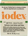 Iodex with Methyl Salicylate, Relieves Local Aches and Pains