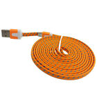 10FT MICRO USB v8 flat Braided Data sync Charger Cable FOR Samsung galaxy s3 s4