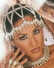 Metal Chain bell chocker necklace belly dance body accent costume burlesque