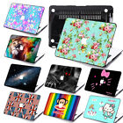 """3D Painted Case +Keyboard +Screen Cover  for Macbook Pro 13""""15""""Retina Air 11""""12"""""""