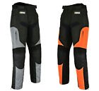 Mens Motorcycle Motorbike Cordura Trousers Textile Waterproof Pants - All Sizes