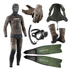 Cressi Package Apnea Pesca Sub Tracina 5mm Spearfishing Freedive 06DE