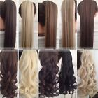 Wowen Long Straight Curly Around Clip In Ponytail Pony Tail Hairpiece