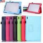 "NEW #I PU Leather Cover Case Stand for 10.1"" Tablet Lenovo A10-70 A7600 USA"
