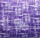 Quilting Fabric Purple Criss Cross Go Team Cotton Sewing Fat Quarter By the Yard