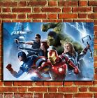 AVENGERS IRON MAN FILM COOL CANVAS WALL ART BOX PRINT PICTURE SMALL/MEDIUM/LARGE