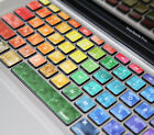 Macbook Keyboard Decal Air Sticker Colorful Avery US style Protector For apple